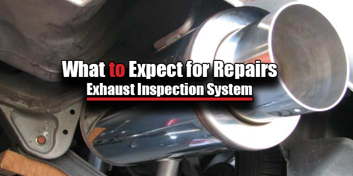 exhaust inspection repairs